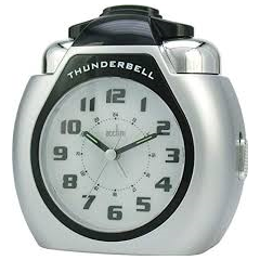 Acctim 13007 Thunderbell Alarm Clock