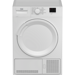 Beko DTLCE80041W Condenser Tumble Dryer 8kg in White