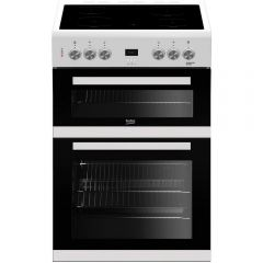 Beko EDC633W Cooker Electric Double Oven W60 in White