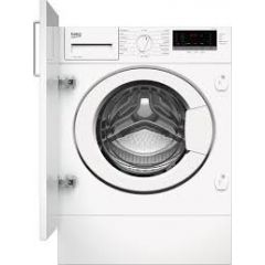 Beko WTIK74151F Integrated Washing Machine 8kg Load 1400 Spin