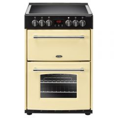 Belling F60EC Farmhouse Electric Cooker in Cream 60cm Wide (444444710)