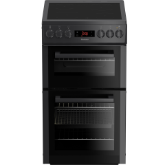 Blomberg HKS900N Electric Cooker 50cm Double Oven Ceramic in Anthracite