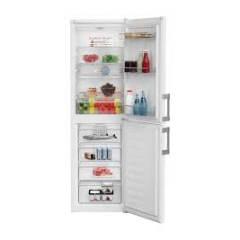 Blomberg KGM4553 Fridge Freezer Frost Free in White W54 H183 with Food Protector Technology