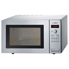 Bosch HMT84M451B Microwave in Brushed Steel 25 Litre