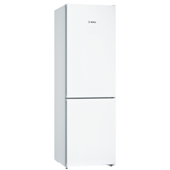 Bosch KGN36VWEAG Fridge Freezer Frost Free with VitaFresh W60 H186 in White