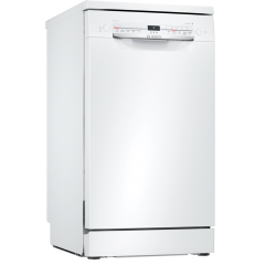 Bosch SPS2IKW04G Slimline Dishwasher in White 9 Place Settings Home Connect