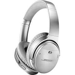 Bose QuietComfort35 Series2 Silver Wireless Noise Cancellation Headphones Bluetooth/NFC