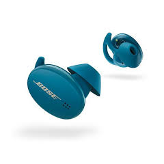 Bose SPORTEARBUDSBB In Ear Headphones Rechargeable Bluetooth in Baltic Blue