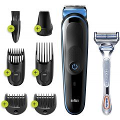 Braun MGK3242 7 in 1 Hair & Beard Trimming Grooming Kit