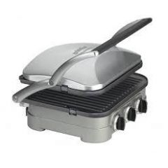 Cuisinart GR4CU MultiFunction Griddle + Grill (FREE 5 YEAR GUARANTEE)
