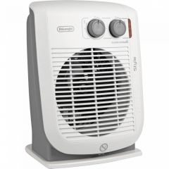 DeLonghi HVF3032 Upright Fan Heater 2.2Kw Thermostat