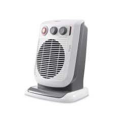 DeLonghi HVF3552TB Vertical Fan Heater 2.4Kw Timer & Thermostat