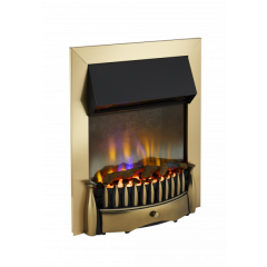 Dimplex BMR20AB Braemar 3D Optiflame Inset Fire In Antique Brass