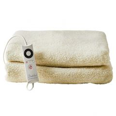 Dreamland 16303 Single Fitted Fleecy Underblanket