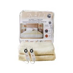 Dreamland 16306 Fleece fitted King Blanket Dual Control