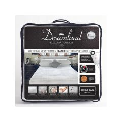 Dreamland 16441 Underblanket, King, Ftted, Dual Control, Cotton