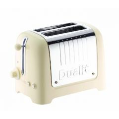 Dualit 26202 2 Slice Lite Toaster in Gloss Cream