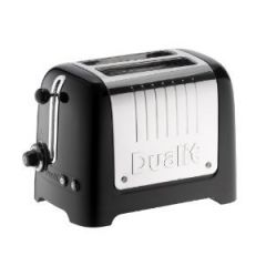 Dualit 26205 2 Slice Lite Toaster in Gloss Black