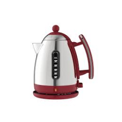 Dualit 72001GR Jug Kettle in Gloss Red 1.5l Lite Range