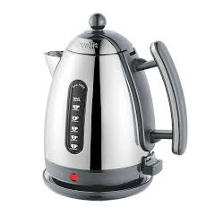 Dualit 72006 Jug Kettle in Cool Grey + Polished Chrome Lite Range 1.5l