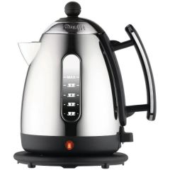 Dualit 72010 Jug Kettle in Black + Polished Chrome Lite Range 1.5 Litre
