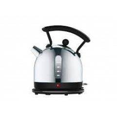 Dualit 72750 Dome Lite Kettle 2 Litre in Black & Stainless Steel