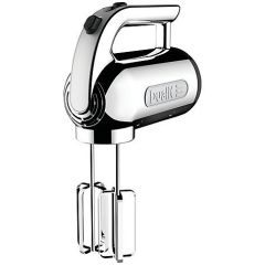 Dualit 89300 Chrome Hand Mixer 400w 4 Speed
