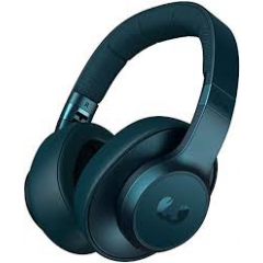 Fresh And Rebel CLAMPB Clam Bluetooth Noise Cancelling Over-Ear Headphones in Petrol Blue