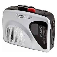 Groove GVPS525 Personal Cassette Player/Recorder