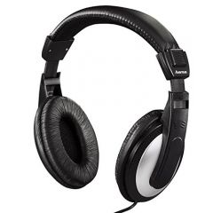 Hama 135619 Television Headphones (6M) in Black