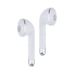 Happy Plugs AIR1W Bluetooth In-Ear Headphones In White