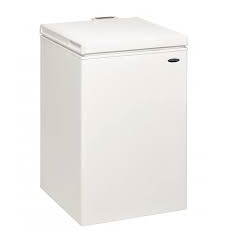IceKing CF97W Chest Freezer 97l with Freezer Guard A+ Energy Rating