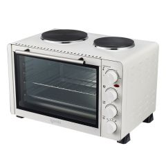 Igenix IG7130 30Ltr Mini Oven With Two Hotplates