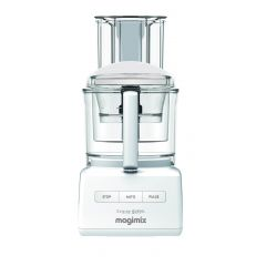Magimix 18590 5200XL Food Processor in White (FREE SPIRAL EXPERT WORTH £120 UNTIL 2.12.21)