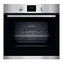 Neff B1GCC0AN0B Built In Single Oven in Stainless Steel Electric
