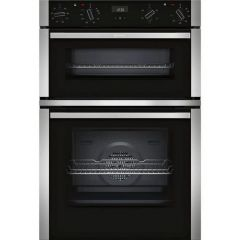 Neff U1ACE2HN0B Double Oven In Stainless Steel