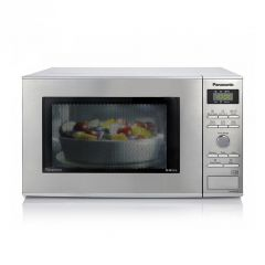 Panasonic NNGD37HSBPQ Microwave & Grill Stainless Steel 23L