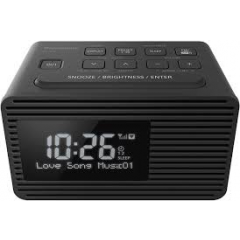 Panasonic RCD8EBK Clock Radio Alarm with DAB + FM