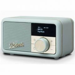 Roberts REVPETITEDE Revival Petite in Duck Egg DAB/FM Rechargeable Bluetooth