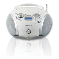 Roberts ZOOMBOX3W DAB/FM/CD/USB Portable in White