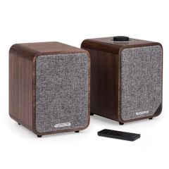 Ruark Audio MR1- MkII Active Bluetooth Speaker Walnut