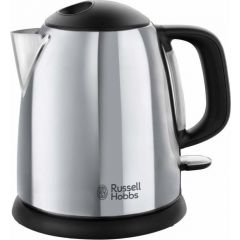 Russell Hobbs 24990 Victory Compact Kettle 1 Litre Polished Stainless Steel