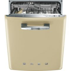 Smeg DI6FABCR BuiltIn 50`s Style Dishwasher 60cm in Cream