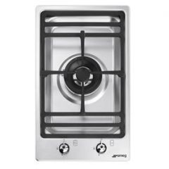 Smeg PGF31G-1 30cm Domino Single Gas Burner Ultra Low Profile
