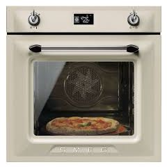 Smeg SF6922PPZE1 Single Oven Built-In Victoria Style in Cream