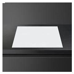 Smeg SI2M7643DW Induction Hob 60cm Multizone White Glass with Intuitive Slider