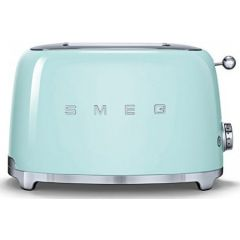 Smeg TSF01PGUK 2 Slot Toaster in Pastel Green