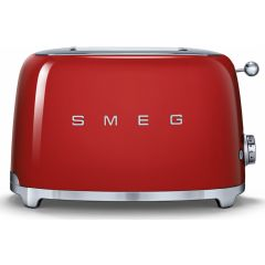 Smeg TSF01RDUK 2 Slot Toaster in Red