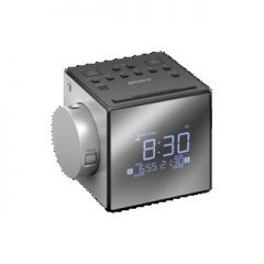 Sony ICFC1PJ.CEK Radio Alarm Clock FM/AM with Time Projector