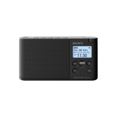 Sony XDRS41DB.CEK DAB/DAB+/FM Radio Black Mains or Battery